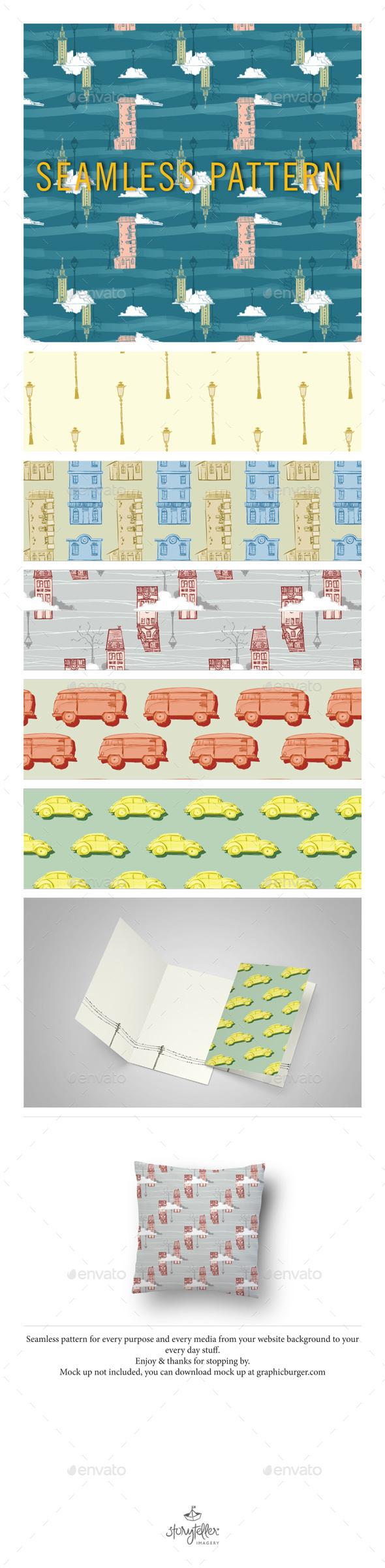 Seamless Pattern - Patterns Backgrounds