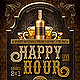 Happy Hour Poster Flyer - GraphicRiver Item for Sale
