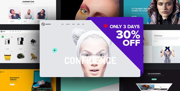 Skeleton WordPress Theme - Business Corporate