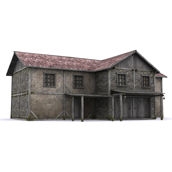 Big house - 3DOcean Item for Sale