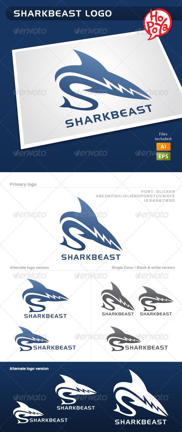 Sharkbeast Logo - Letters Logo Templates