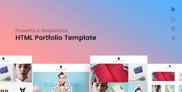 Ben – Creative Portfolio HTML Template