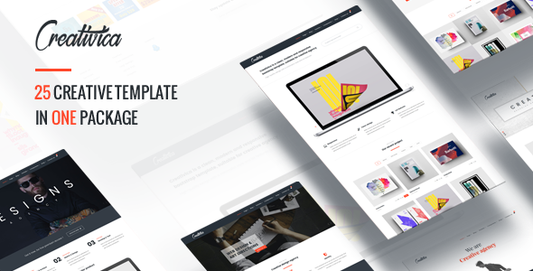Creativica – Multiple Creative HTML5 Template