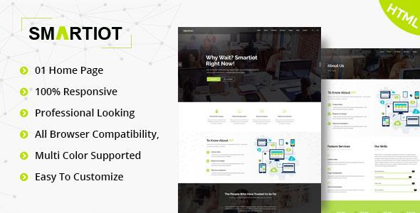 SmartIOT || Corporate HTML5 Template