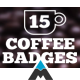 Coffee Badges and Labels - VideoHive Item for Sale
