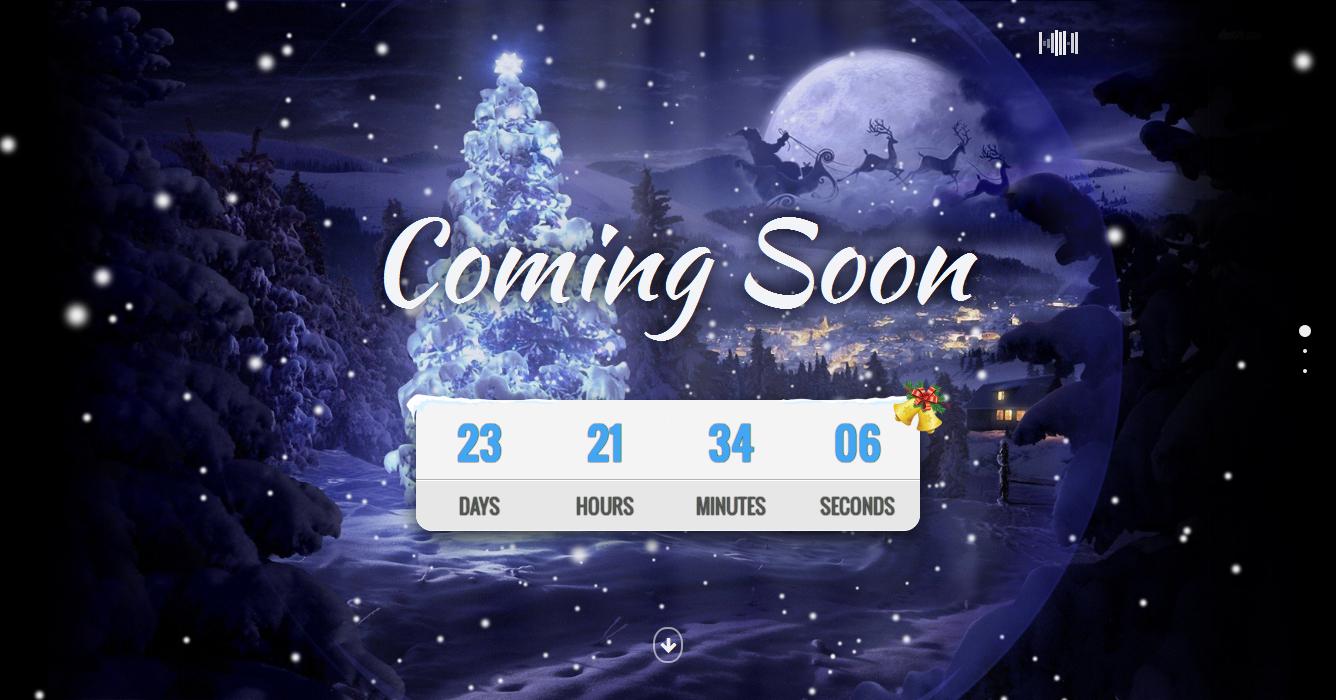 Christmas Coming Soon Template