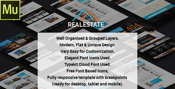 Real Estate – Muse Theme