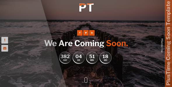 PlusTime - Coming Soon Template