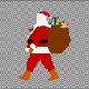 Santa Carrying Bags Walk - VideoHive Item for Sale
