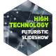 High Technology Futuristic Slideshow | Opener - VideoHive Item for Sale
