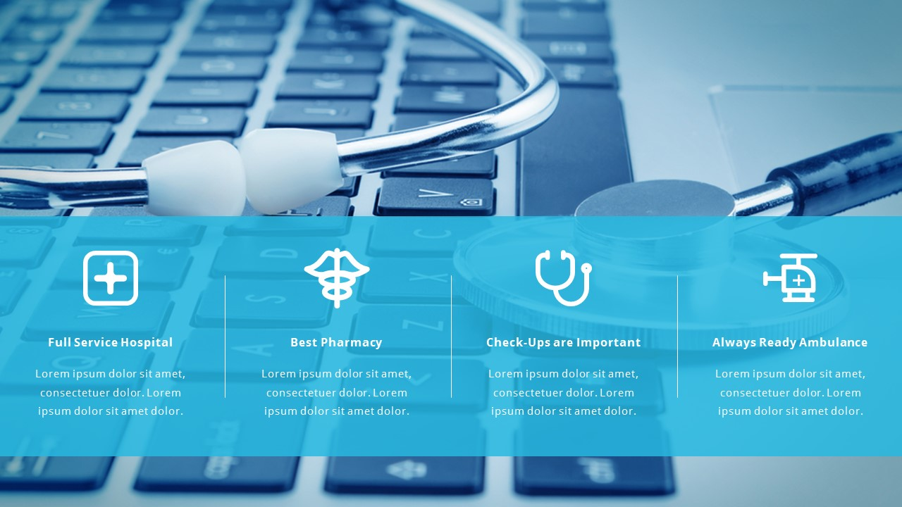 health technology powerpoint templates  Medical and Healthcare Pitch Deck by Spriteit | GraphicRiver