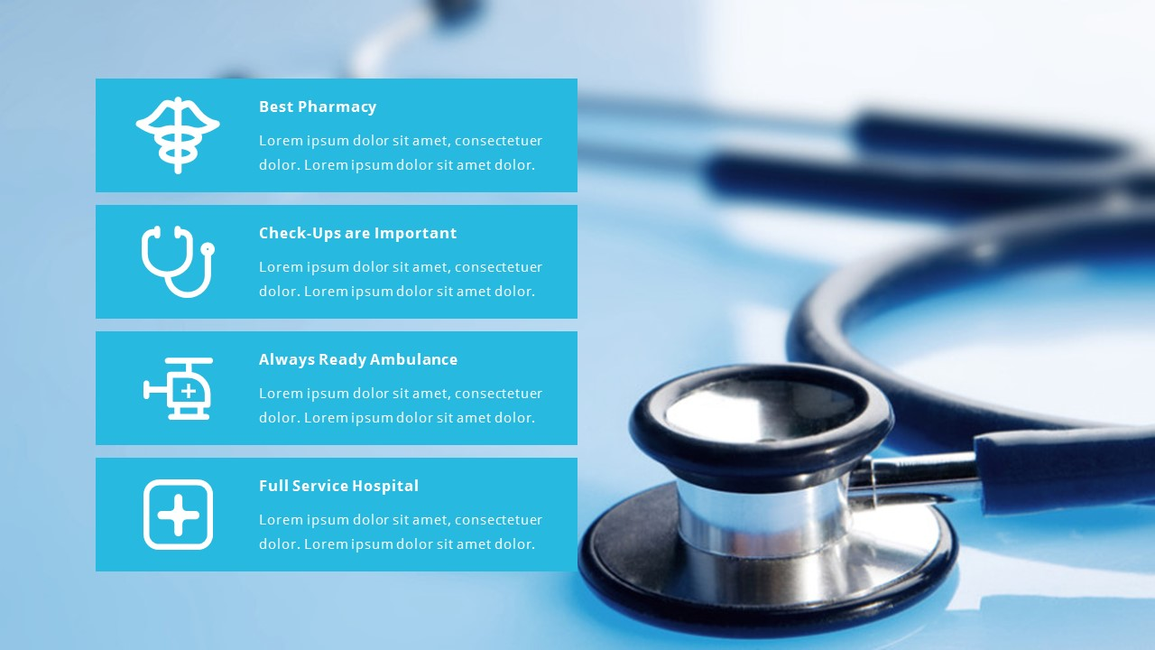 medical and healthcare powerpoint pitch deck by spriteit graphicriver