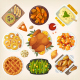 Traditional Thanksgiving Dinner - GraphicRiver Item for Sale