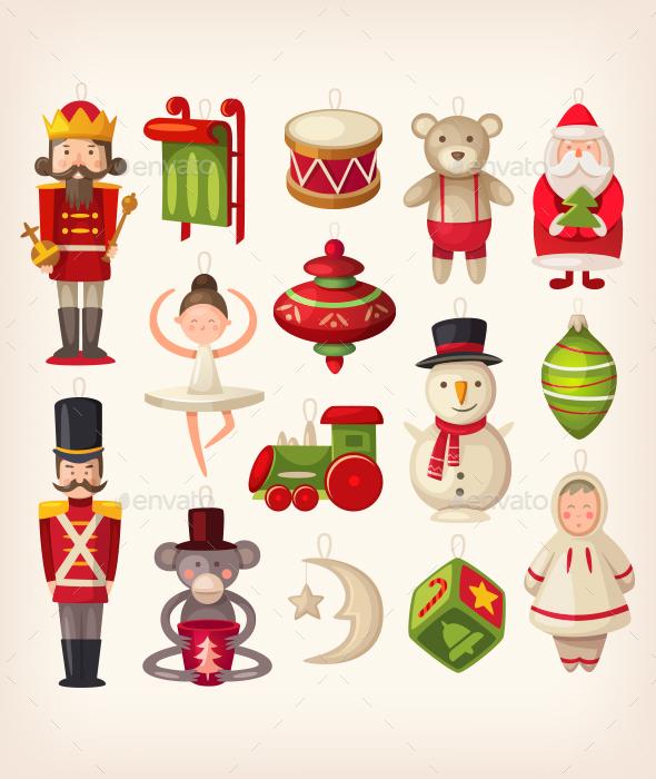 Christmas Tree Toys - Christmas Seasons/Holidays