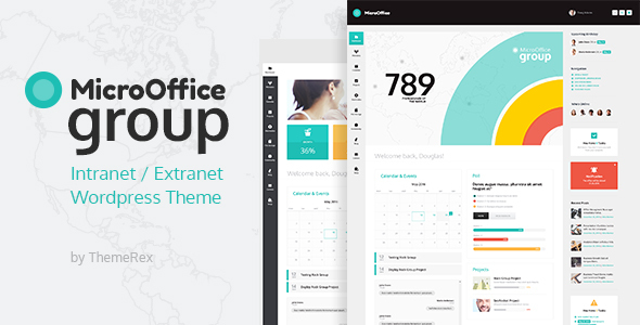 Micro Office | Intranet & Extranet WordPress Theme