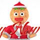 Happy New Year with Gingerbread - VideoHive Item for Sale