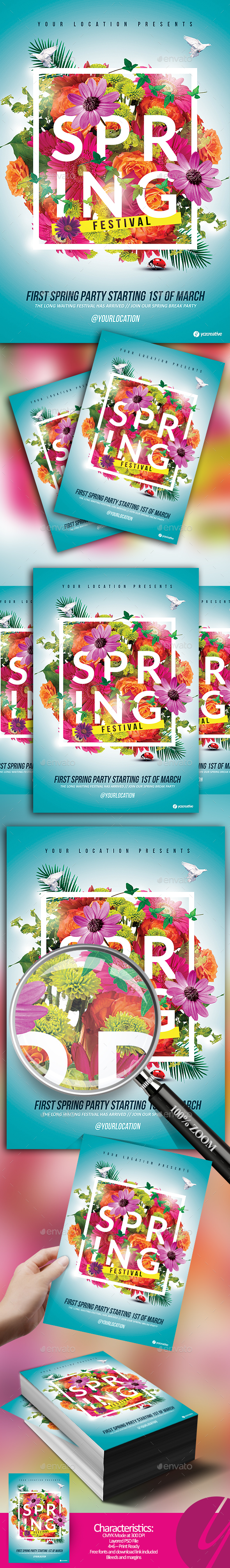 Spring is Here Festival - Holidays Events