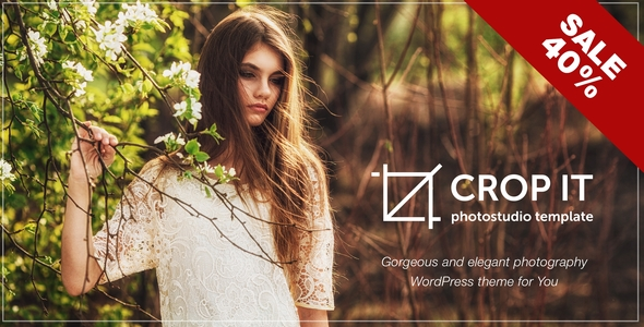 CropIt | WordPress Photography & Portfolio Theme