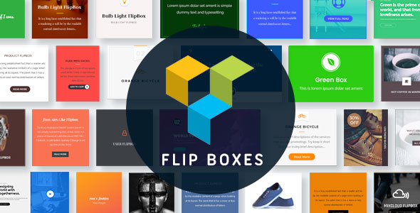 Flip Boxes for Visual Composer - CodeCanyon Item for Sale