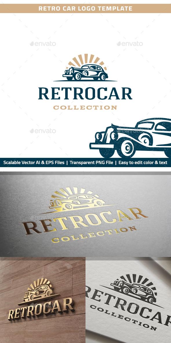 Retro Car Logo by RL-studio | GraphicRiver