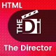 The Director - Film Director & Video Portfolio HTML Template - ThemeForest Item for Sale