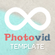 PhotoVid video and photography Blogger Template