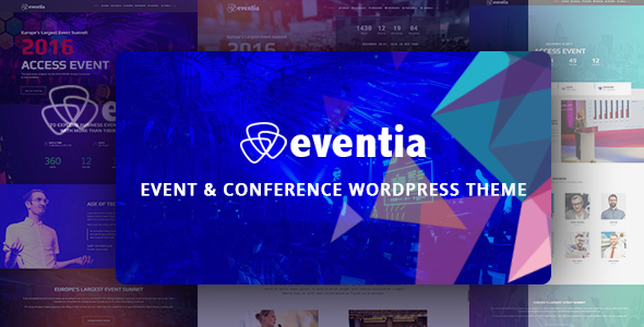 Eventia – Conference & Event Responsive WordPress Theme