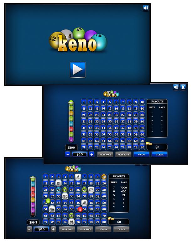 Live keno games