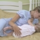 Young Mother Breastfeeding Her Little Daughter. - VideoHive Item for Sale