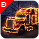 Download Christmas Lights Photoshop Action from GraphicRiver