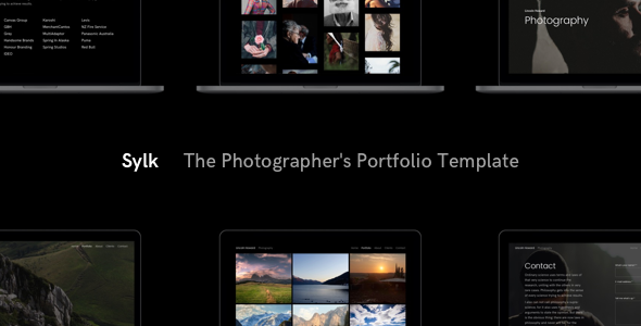 Sylk – Photography Portfolio HTML Template