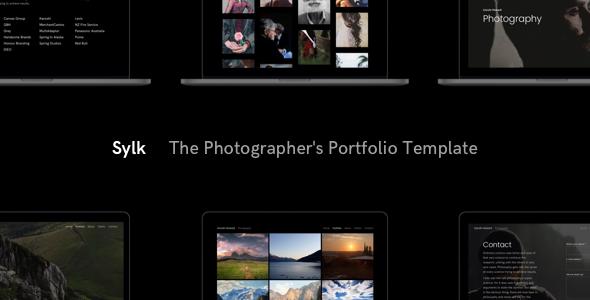 Sylk – Photography Portfolio HTML Template