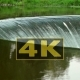 Concepts Power and Preservation of Clean Water Environment. Waterfall on River - VideoHive Item for Sale