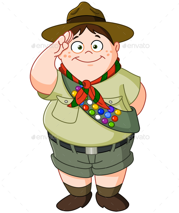 Boy Scout - People Characters