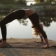 Beautiful Sexy Woman Practicing Yoga By Doing Different Exercises - VideoHive Item for Sale