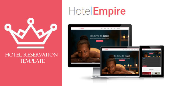 Hotel Empire – Hotel Reservation HTML Template