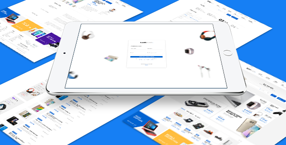 Gumbraa – Looking For Anything PSD Template