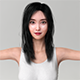 Realistic Korean Beauty - 3DOcean Item for Sale