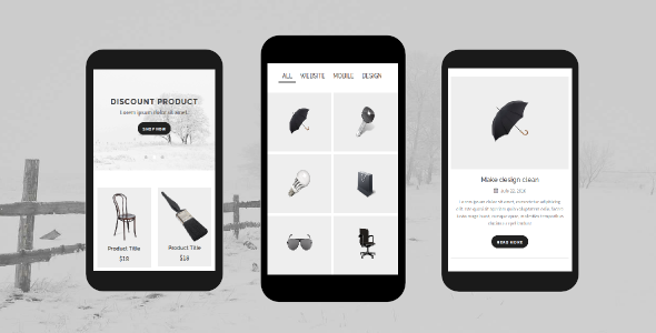 Folio – Portfolio Mobile Template