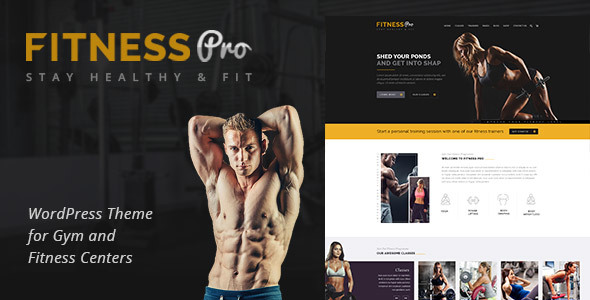 Fitness Pro - Gym Fitness WordPress Theme - Health & Beauty Retail