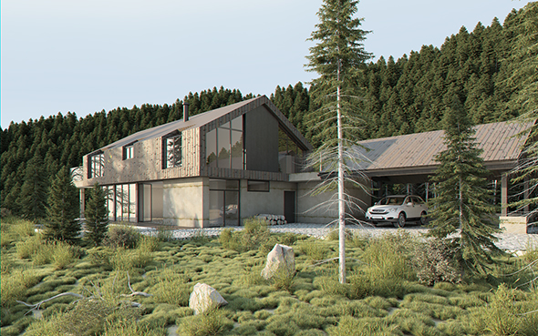 Vray exterior lighting pro daylight settings rendering - Vray realistic render settings exterior ...
