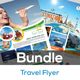 Holiday | Tour | Travel Flyer Bundle V3