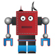 Funky Vector Robots - GraphicRiver Item for Sale