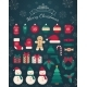 Christmas Decorations and Toys Collection. - GraphicRiver Item for Sale