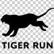 Tiger Silhouette - Run - VideoHive Item for Sale
