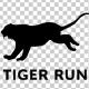 Tiger Silhouette - Run - VideoHive Item for Sale