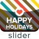 Happy Holidays Slider - GraphicRiver Item for Sale