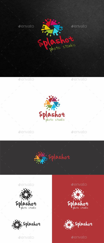 Photo Splash Logo - Symbols Logo Templates