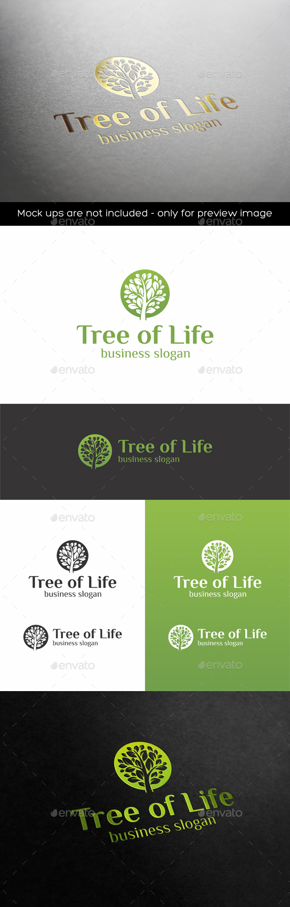 Tree of Life - Nature Logo Templates