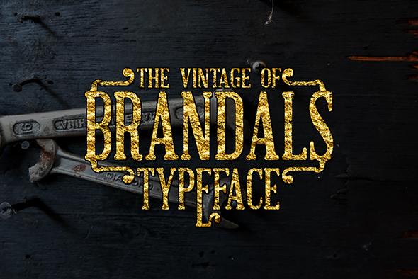 Brandals - Serif Fonts